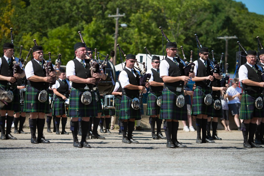 Opening Ceremonies of the 2015 Capital District Scottish Games (©CDSG/SPB)