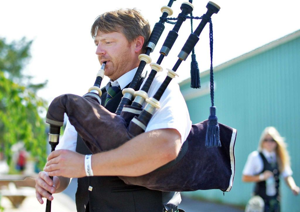 Pipe Major Jeff Scheneck (John Carl D'Annibale / Times Union)